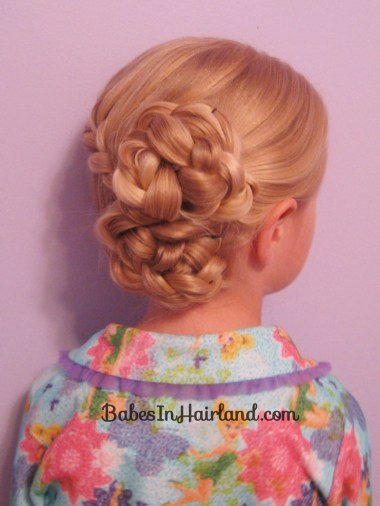 Half-French Braided Updo (17)