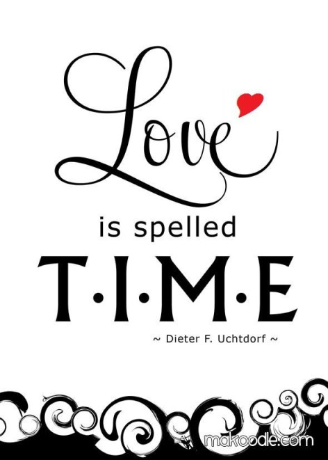 Love=Time