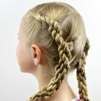 Quadruple Hawser Twist Hairstyle