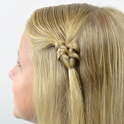 Knotted Fishbone Braid