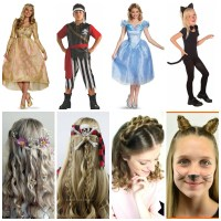 Halloween Costumes (under $10) & Hairstyles