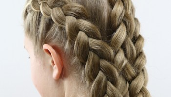 How To Get A Tight French Braid Babes In Hairland