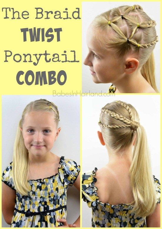 The Braid Twist Ponytail Combo