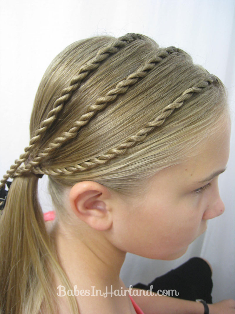 Triple Twists And A Bun Back To School Hair Babes In Hairland