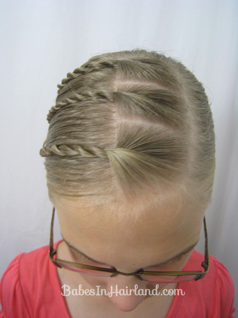 Triple Twists And A Bun Back To School Hair Babes In