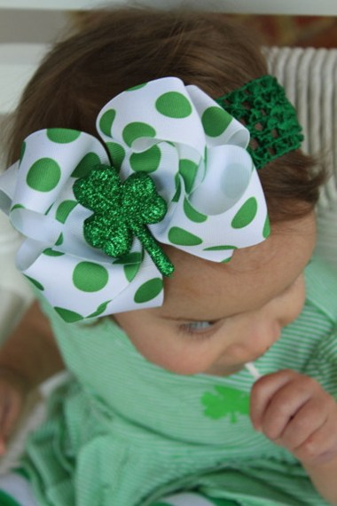 St. Patrick's Day Hair Accessories (8)