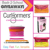 Back-to-School Curlformers Giveaway