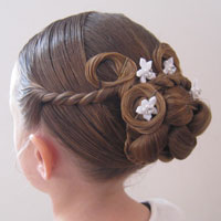 Beautiful Holiday Updo