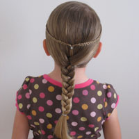 Quick & Easy Hippy/Bohemian Hairstyle #2