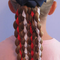 Vertical American Flag Hairstyle (22)