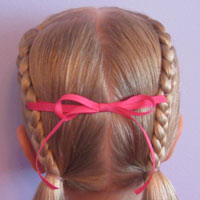 Letter H Hairstyle