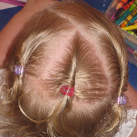 Baby Cornrows or 3 Mini Twists