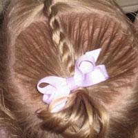 Baby Rope/Twist Braid into Baby Pony (9)