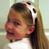 Polka Dot Headband – Day 3