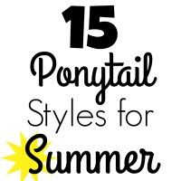 15 Ponytail Styles for Summer