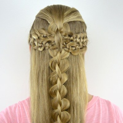4 Strand Braid Boho Style