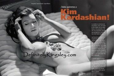 Kim Kardashian Playboy outtake