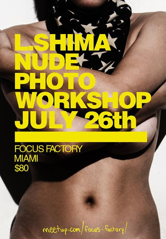 L. Shima Nude Photo Workshop