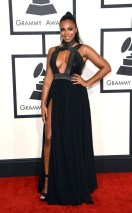 Ashanti at the 2015 Grammys