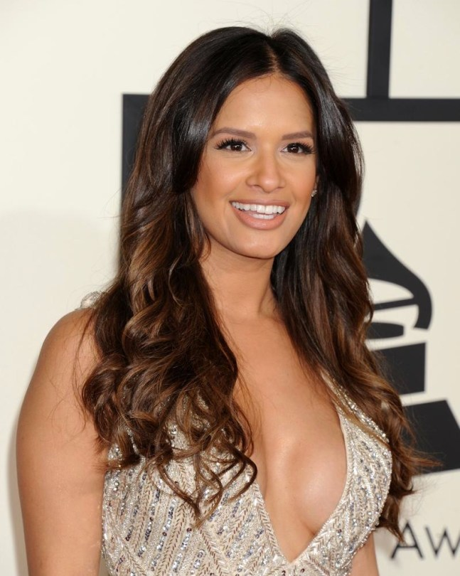Rocsi Diaz at the 2015 Grammys