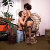 Desiree West (with Joey Silvera)