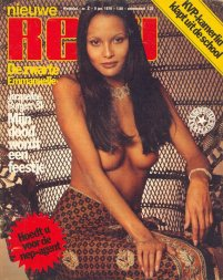 Laura Gemser magazine cover