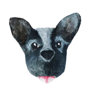 papieracte hond ras Frenchie