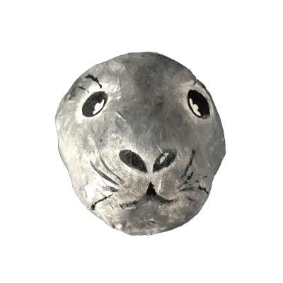 kinderkamerstyling kinderkamer zeehond dierenkop