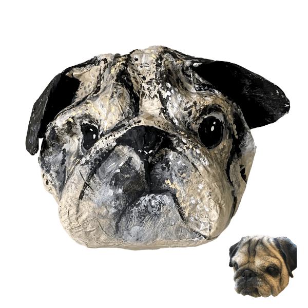 pug huisdierportret