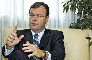 Antonio Silván. Consejero de Fomento y Medio Ambiente