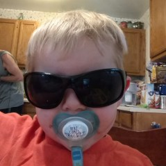 Rowen found these sunglasses outside
