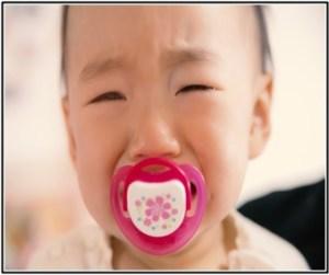 赤ちゃんが下痢に悩んで、熱がでてお風呂に入らない画像