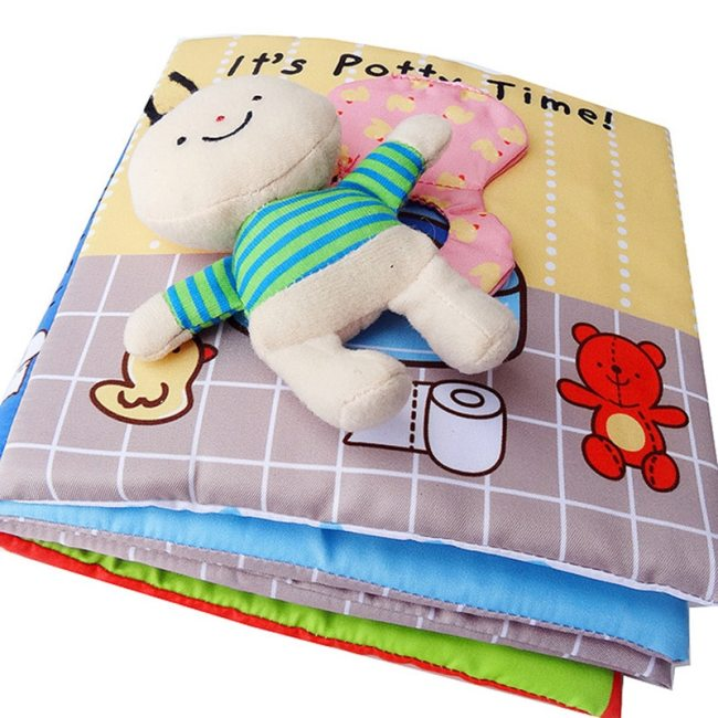 Baby Book Soft Cloth Books Toddler Newborn Early Learning Develop Cognize Reading Puzzle Book Toys Infant