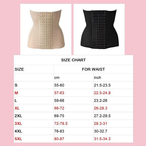 Maternity postpartum belt bandage slimming corset corsets bustiers Plus size Women waist trainer waist body shaper 4
