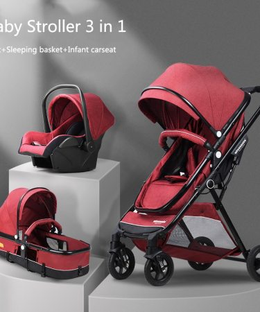 Multifunctional 3 in 1 Baby Stoller Light Weight Stroller Portable Baby Stroller Lightweight Baby Carrier Infant