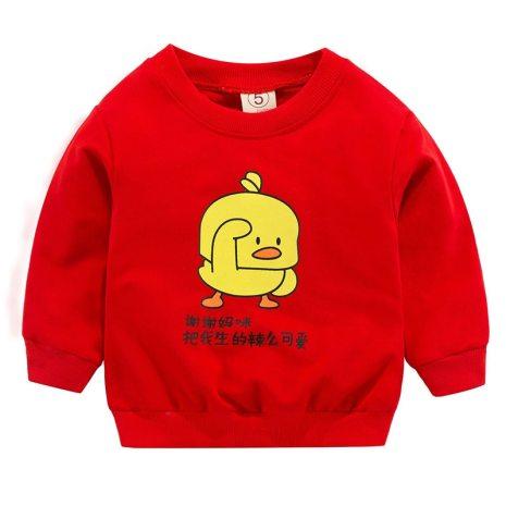 New Baby Boys Girls Sweatshirts Autumn Spring Cartoon Cotton Hoodies Tops Children Kids Long Sleeve T 1