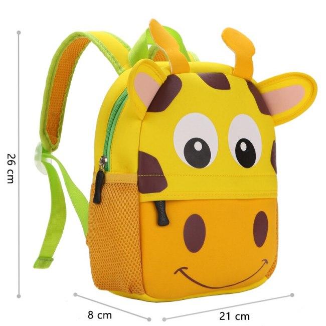 2019 New 3D Children School Bags for Girls Boy Children Backpacks Kindergarten Cartoon Animal Toddle Kids 1