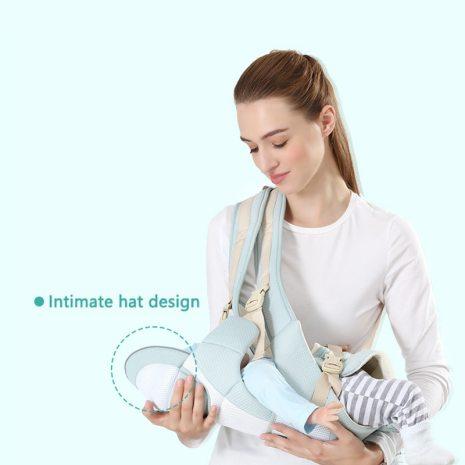 Original Ergonomic Baby Carrier New Born Kids Infant Hipseat Front Facing Kangaroo Sling Wrap for Baby 2