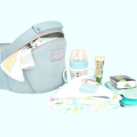 Original Ergonomic Baby Carrier New Born Kids Infant Hipseat Front Facing Kangaroo Sling Wrap for Baby 3
