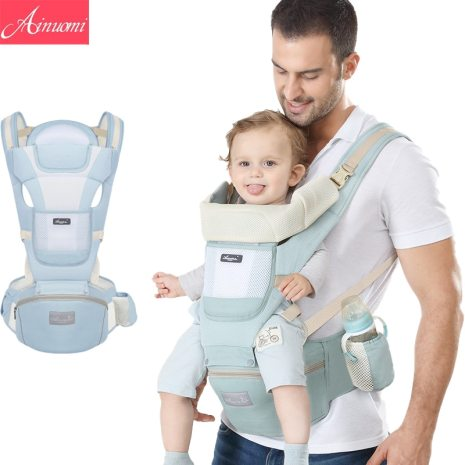 Original Ergonomic Baby Carrier New Born Kids Infant Hipseat Front Facing Kangaroo Sling Wrap for Baby