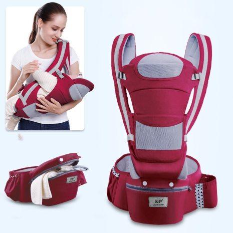 0 48M Ergonomic Baby Carrier 15 Using Way Infant Baby Hipseat Carrier Front Facing Ergonomic Kangaroo 5