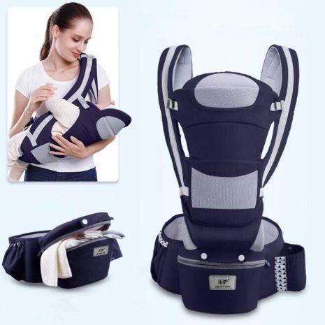 0 48M Ergonomic Baby Carrier 15 Using Way Infant Baby Hipseat Carrier Front Facing Ergonomic Kangaroo