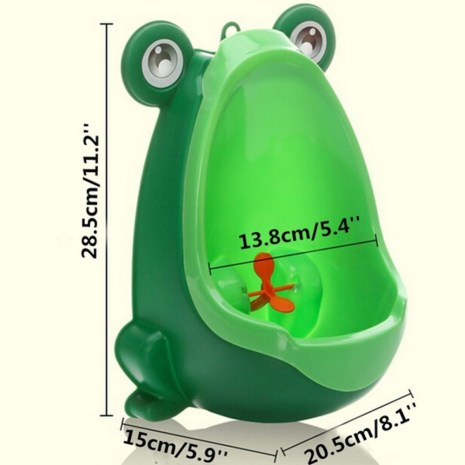 Baby Boy Potty Toilet Training Frog Children Stand Vertical Urinal Boys Penico Pee Infant Toddler Wall 1