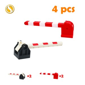 Railway Transport Assemble Big Building Blocks Track Set Compatible Toy Bricks Train Home Interactive Toys For 1