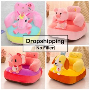 Baby Sofa Support Seat Cover Learning to Sit Seat Feeding Chair Cover Kids Sofa Skin for