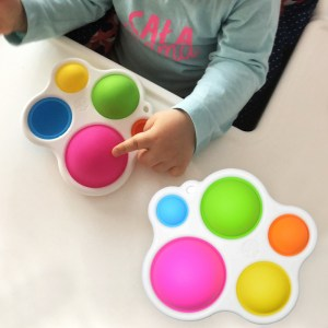 Baby Toys Montessori Exercise Board Rattle Puzzle Toy Colorful Kids Fidget Toys Intelligence Development Early Education