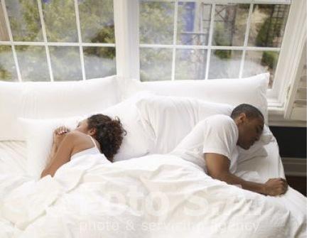 Sleeping Position Cliff Hanger