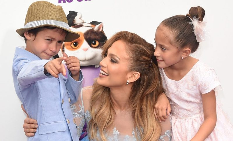 Jennifer Lopez Celebrated Her Twins' Eighth Birthday!
