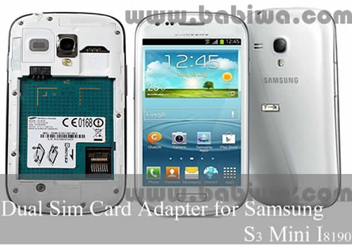 2 Simcard For Samsung S2S3 MiniNote1 With 007 Function