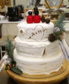 tort ślubny, styl angielski, babkarnia